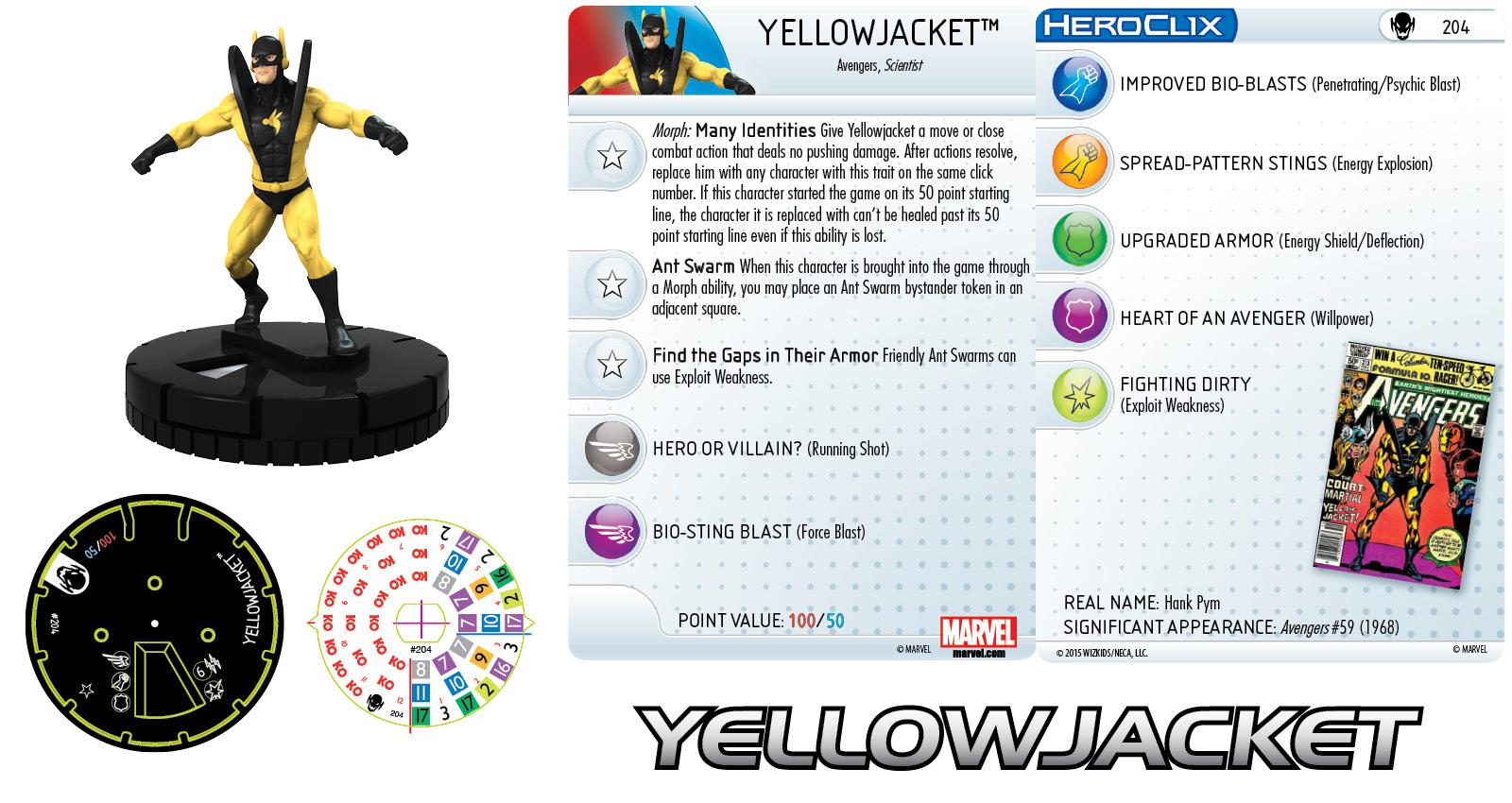Marvel HeroClix: Age of Ultron- Yellowjacket