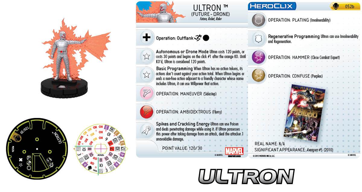 Marvel HeroClix: Age of Ultron - Ultron (Future Drone)