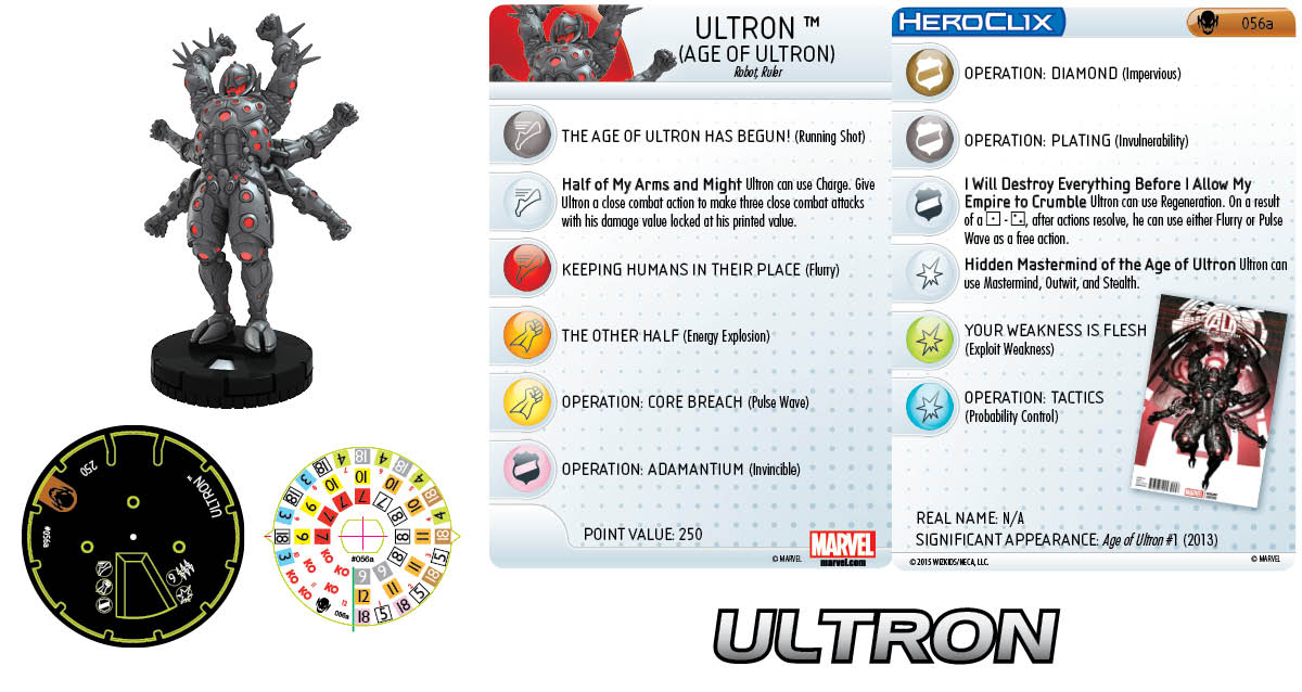 Marvel HeroClix: Age of Ultron- Ulron (Age of Ultron)