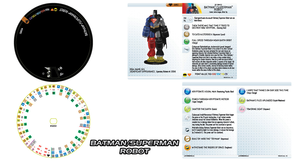 DC17 Batman:Superman Robot