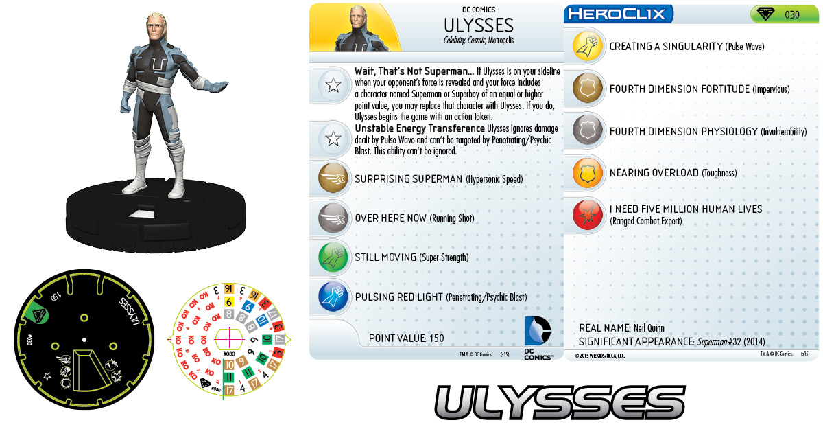 DC HeroClix: Superman/Wonder Woman- Ulysses