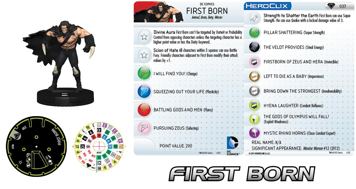 DC HeroClix: Superman/Wonder Woman - First Born