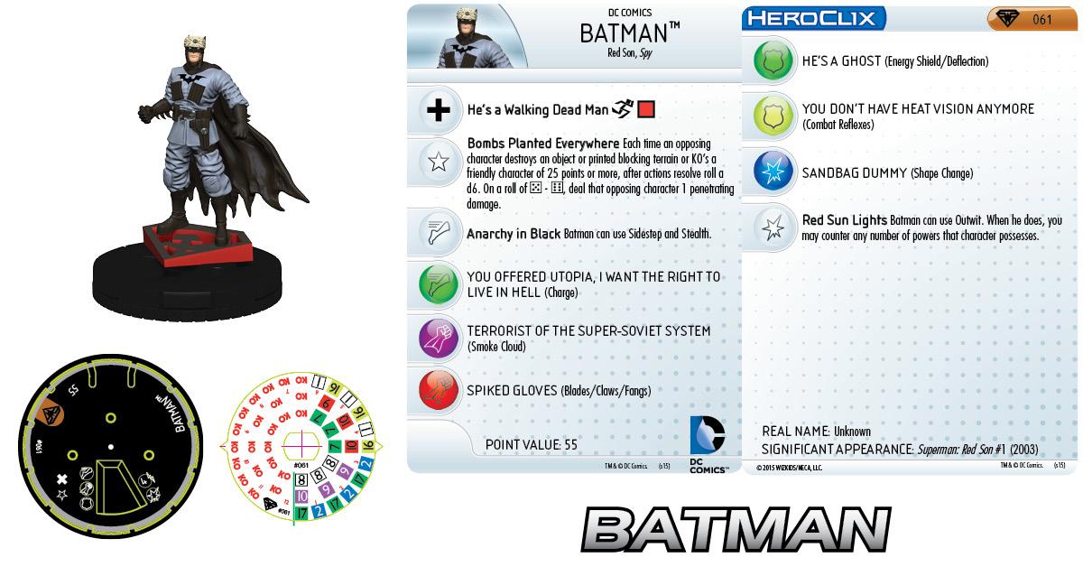 DC HeroClix: Superman/Wonder Woman- Batman