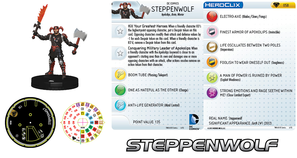 Apokolips Team- Steppenwolf
