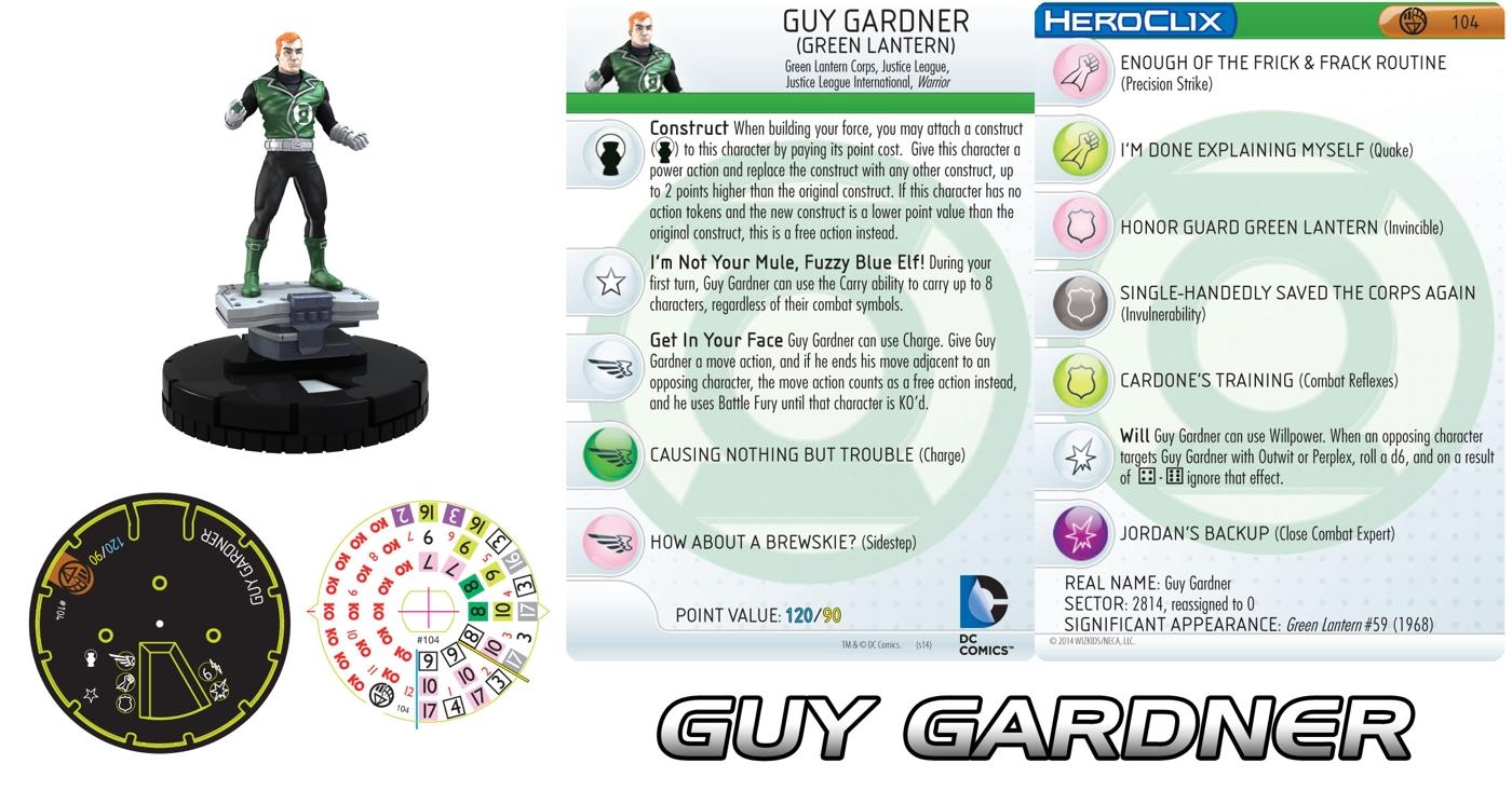 DC Comics HeroClix: Guy Gardner