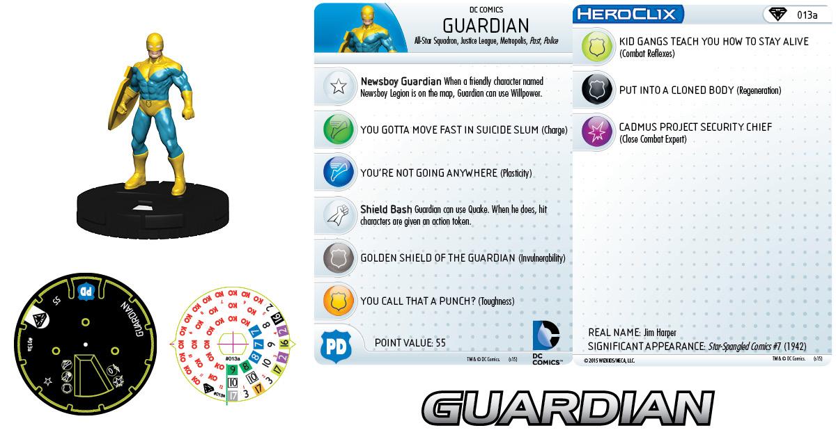 DC HeroClix: Metropolis Team - Guardian