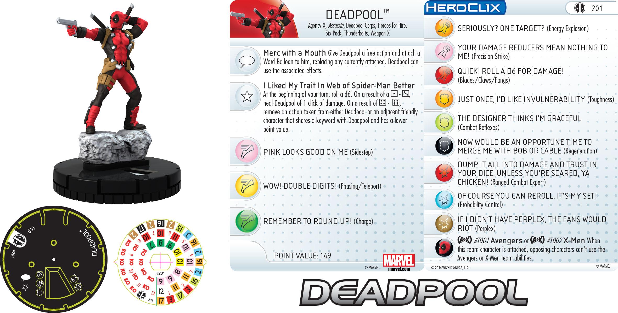 Marvel HeroClix: Deadpool