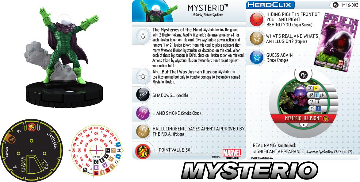 Marvel HeroClix: Sinister Six- Mysterio