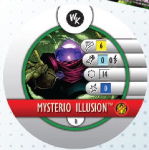 Marvel HeroClix: Sinister Six- Mysterio Token