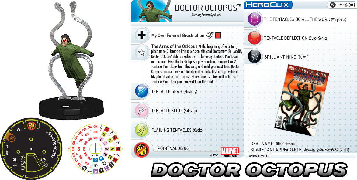 Marvel HeroClix: Doctor Octopus
