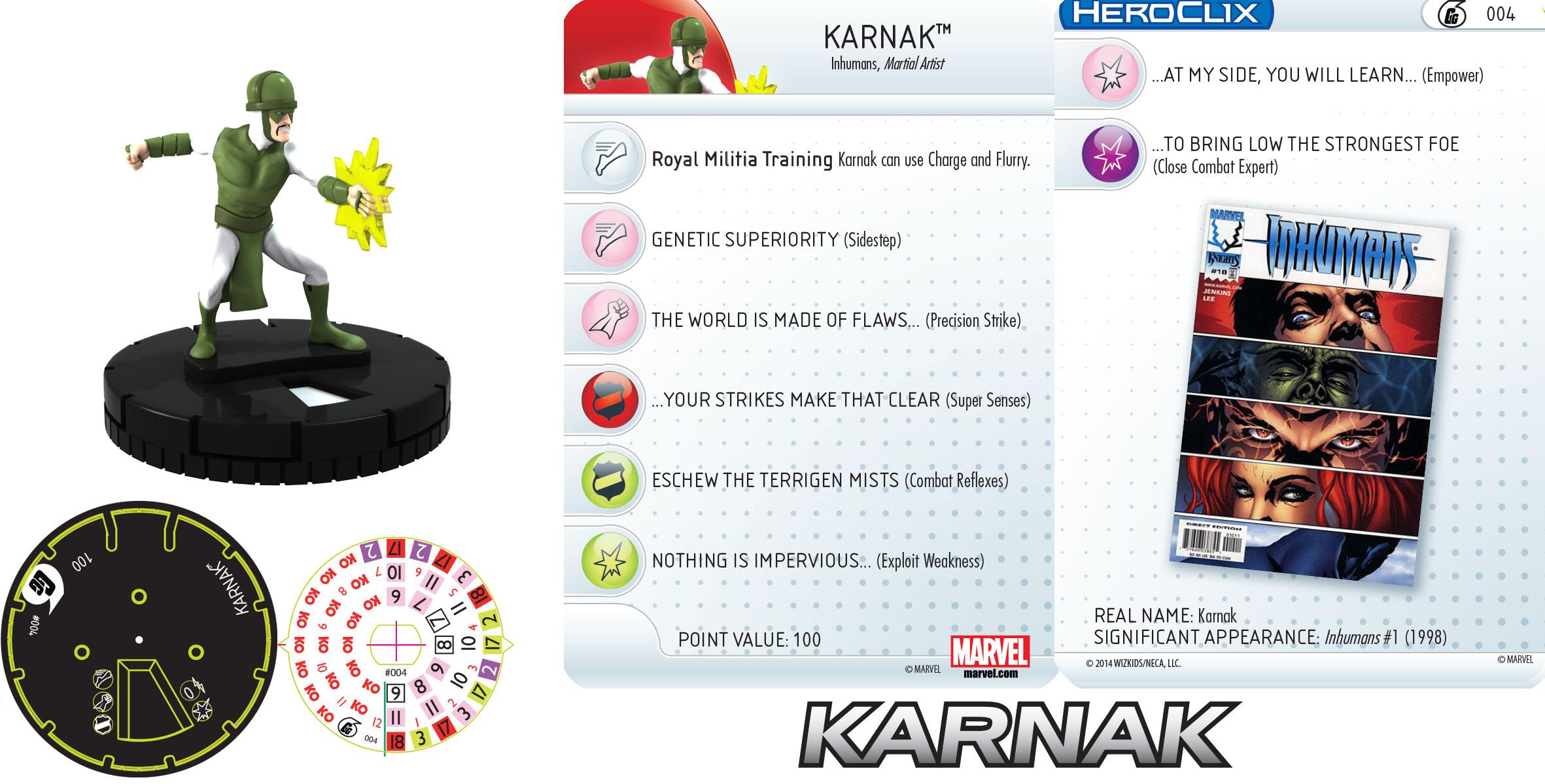 Marvel HeroClix: Karnak