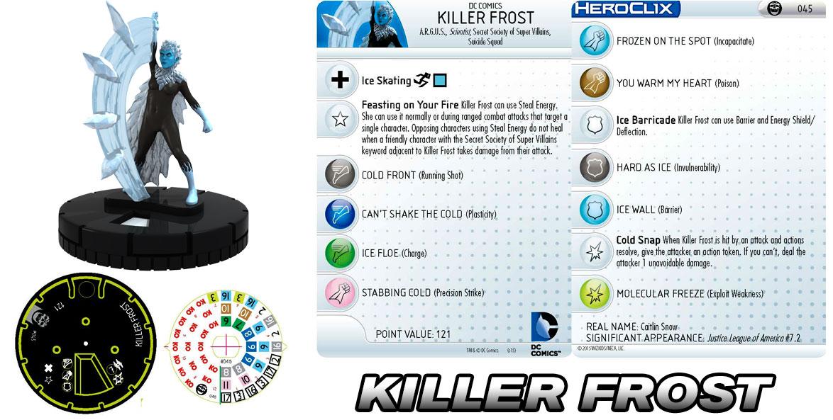 DC HeroClix: Killer Cold- Killer Frost