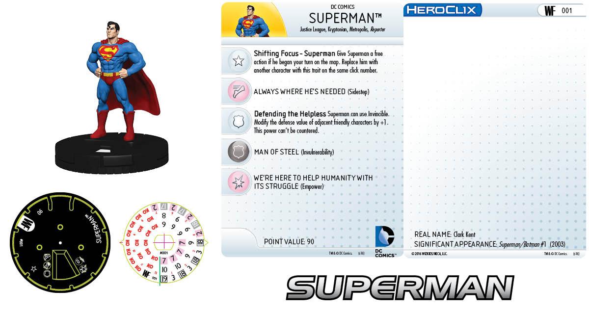 DC HeroClix: World's Finest - Clix It Up Superman 001