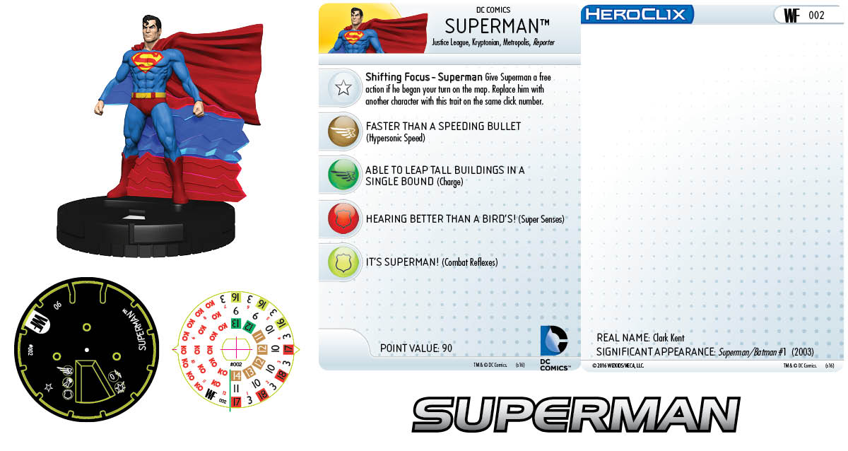 DC HeroClix: World's Finest - Clix It Up Superman 002