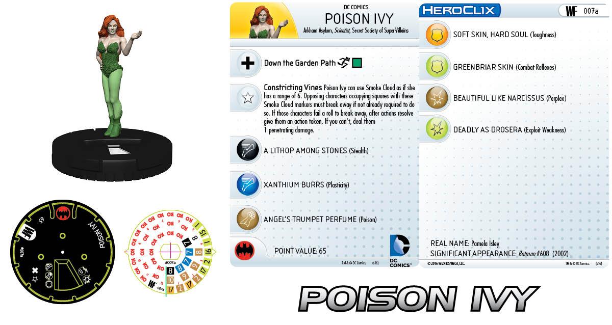 DC HeroClix: World's Finest - Poison Ivy