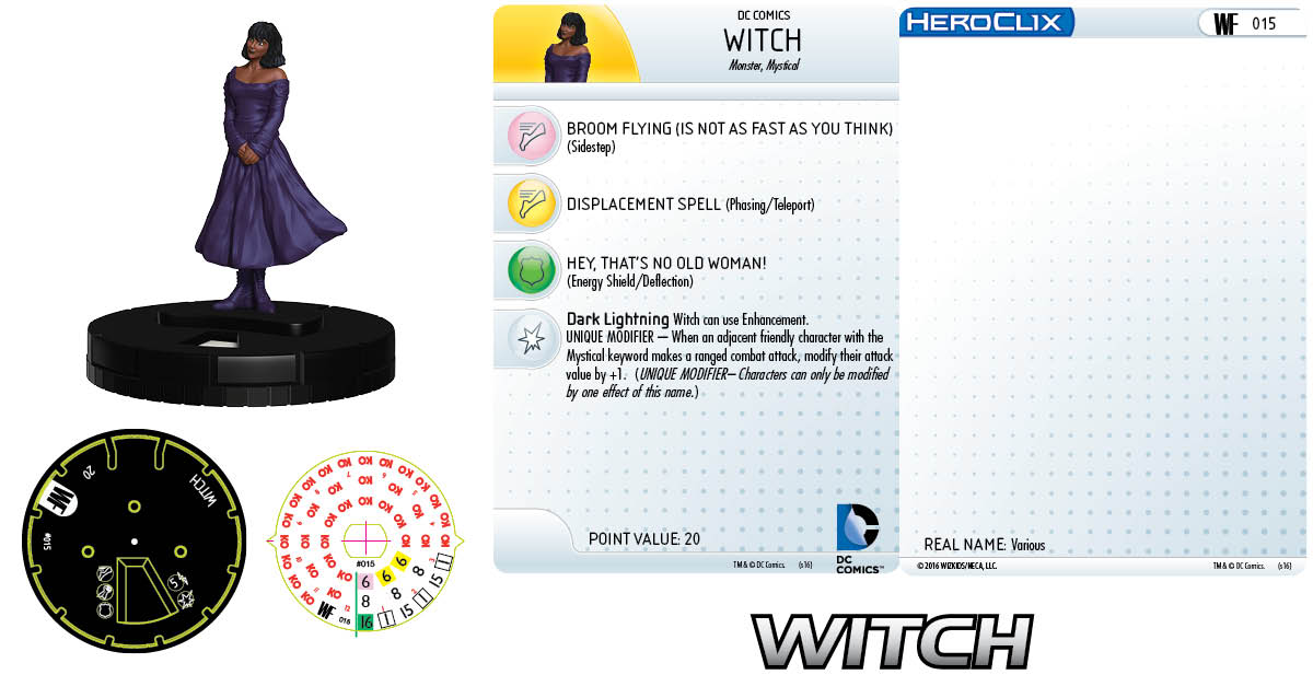 DC HeroClix: World's Finest- Witch