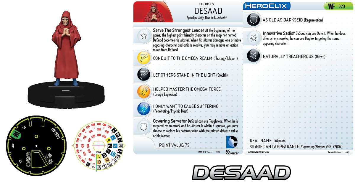 DC HeroClix: World's Finest - DeSaad