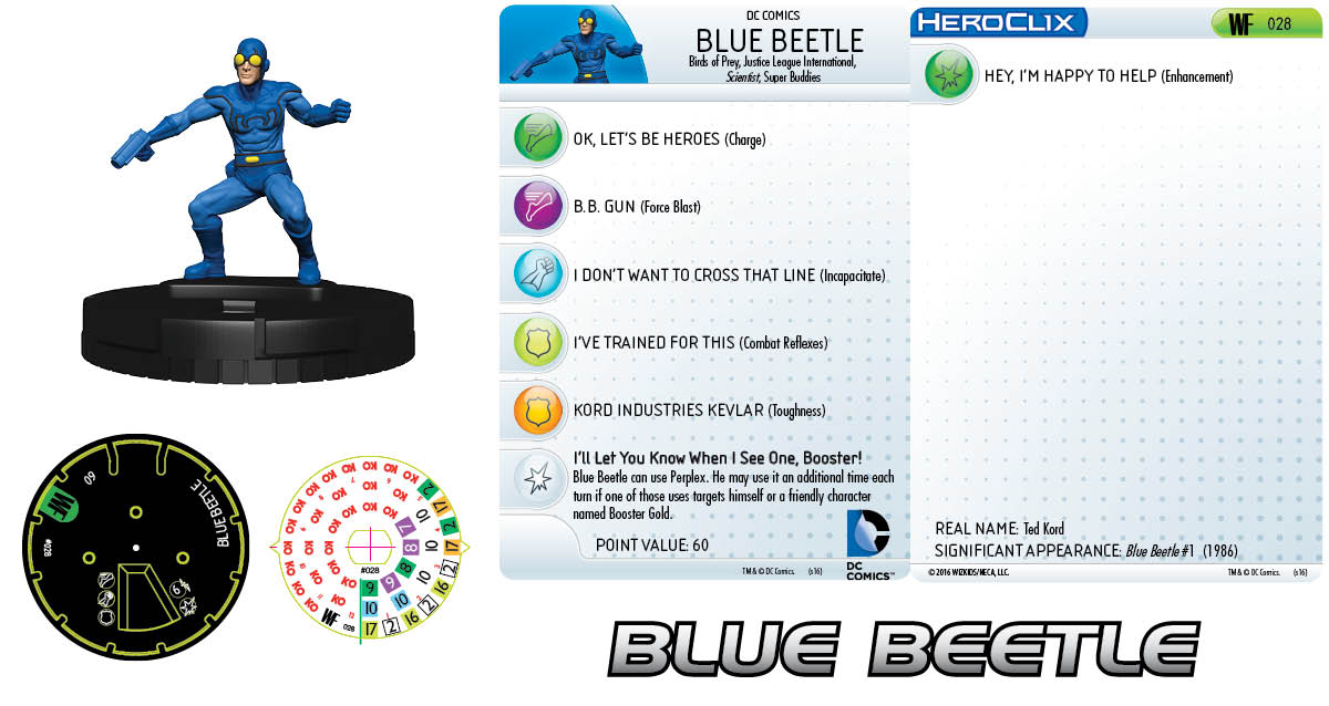 DC HeroClix: World's Finest - Blue Beetle