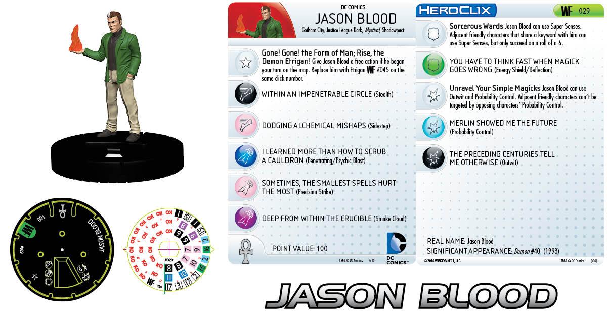 DC HeroClix: World's Finest- Jason Blood