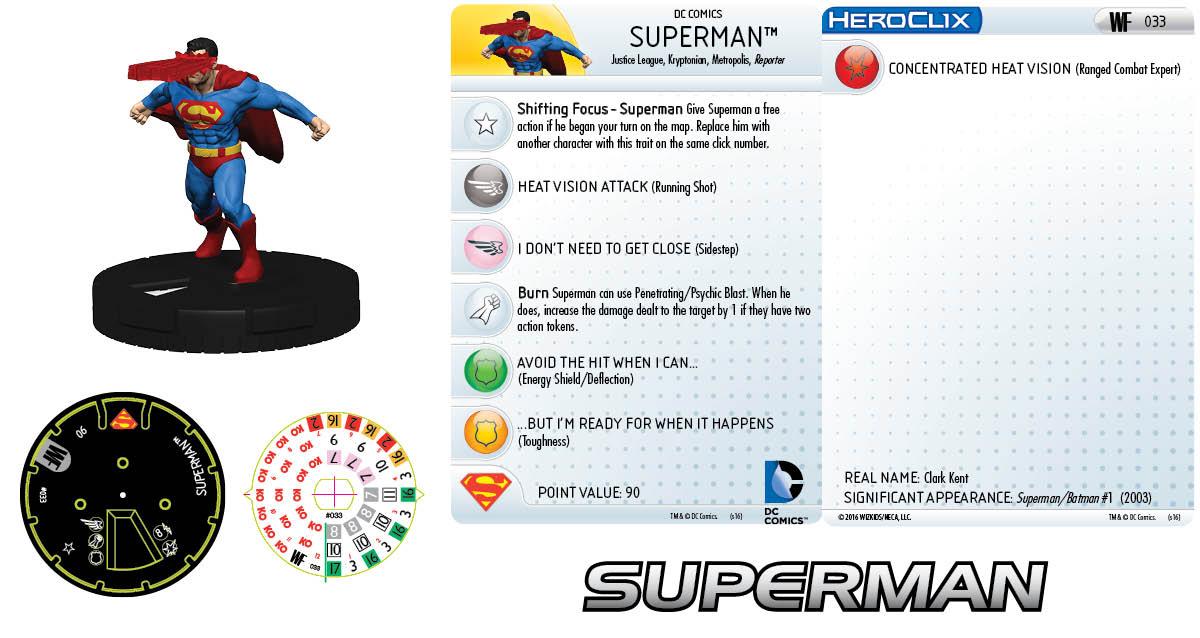 DC HeroClix: World's Finest - Clix It Up Superman 033