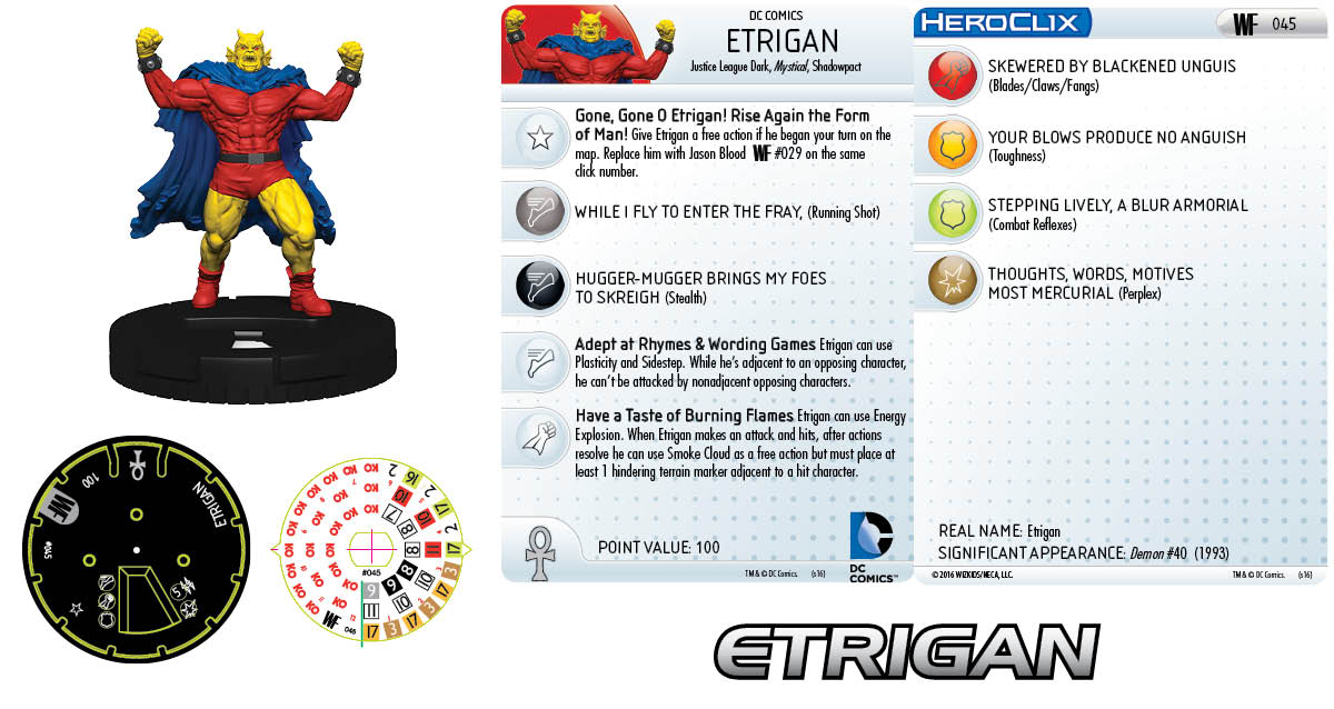 DC HeroClix: World's Finest- Etrigan