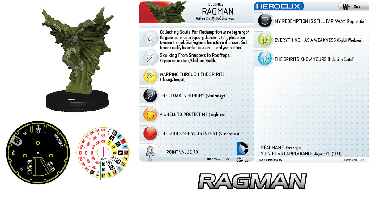 DC HeroClix: World's Finest- Ragman