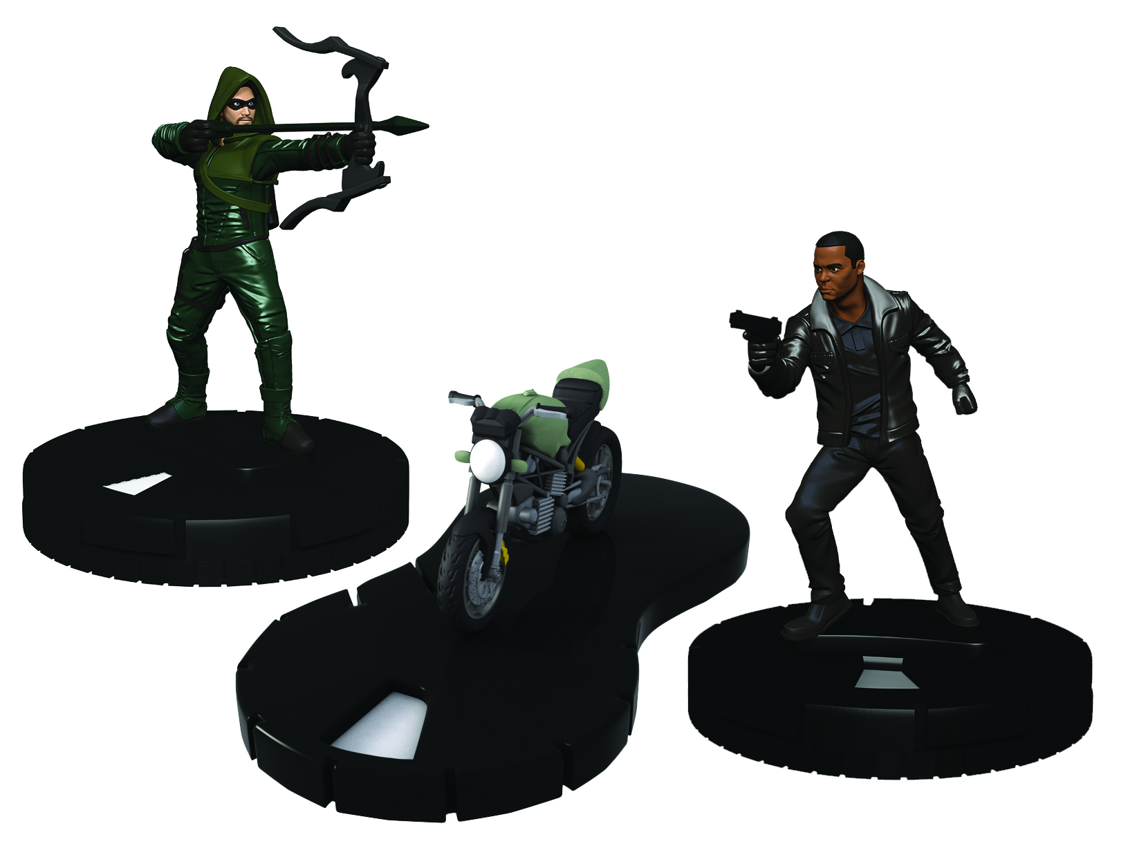 DC Comics HeroClix: Team Arrow with Motorcycle Pack