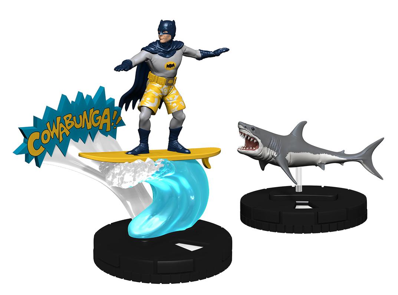 DC Comics HeroClix: Surfing Batman with Shark