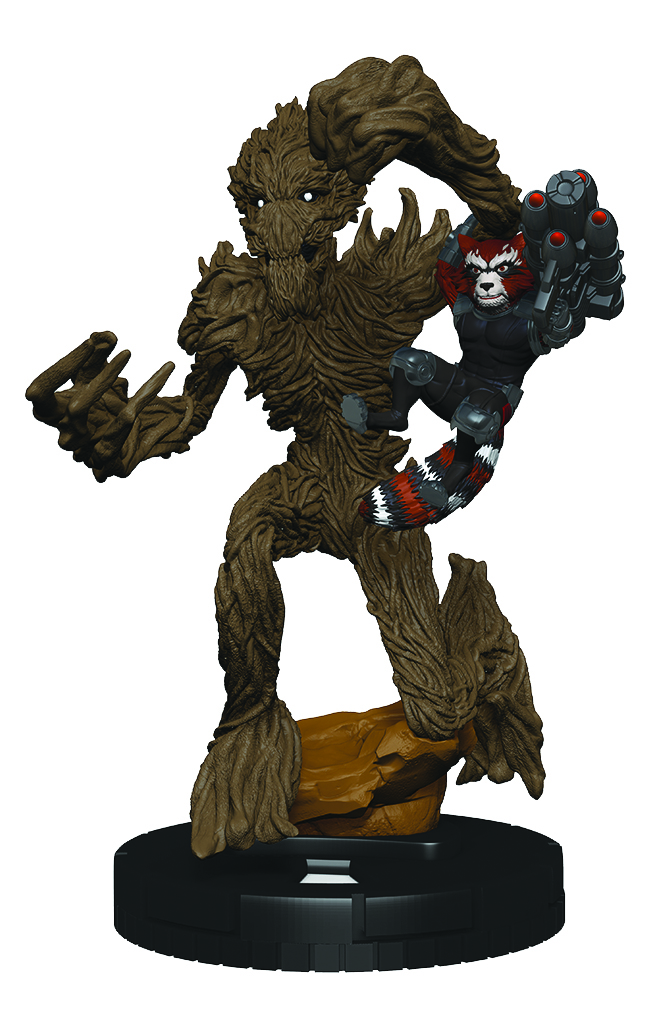 Marvel HeroClix: Convention Exclusive- Rocket Raccoon & Groot
