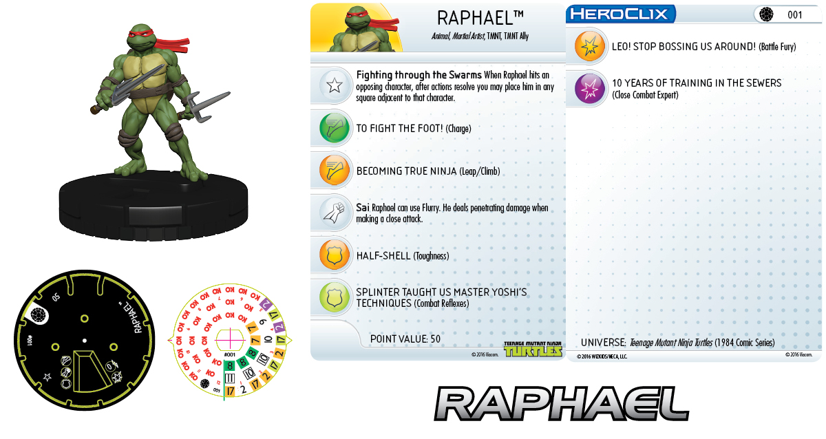 Teenage Mutant Ninja Turtles- Raphael  001