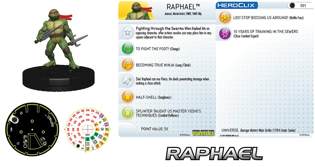 Teenage Mutant Ninja Turtles- Raphael 001