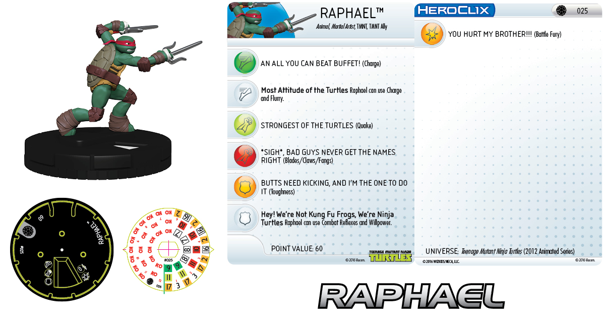 Teenage Mutant Ninja Turtles- Raphael 025