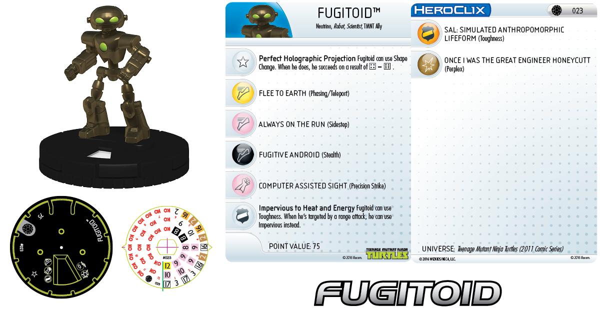 Teenage Mutant Ninja Turtles HeroClix: Fugitoid