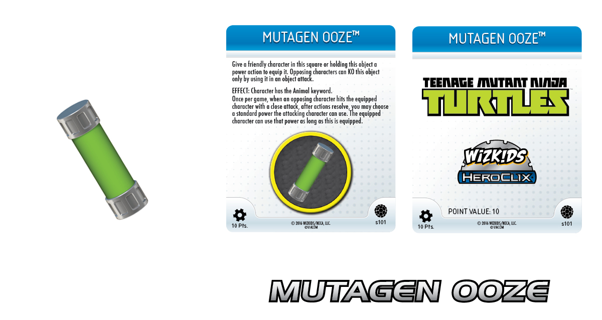 Teenage Mutant Ninja Turtles HeroClix: Mutagen Ooze