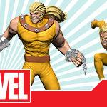 Marvel HeroClix: Uncanny X-Men - Sabretooth and WIld Child