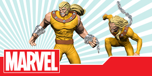 Marvel HeroClix: Uncanny X-Men - Sabretooth and WIld Child
