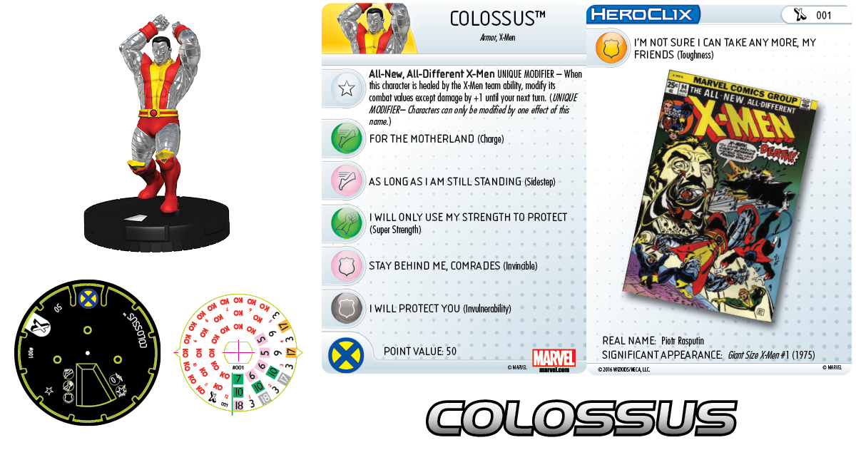 Marvel HeroClix: Uncanny X-Men - Giant-Size X-Men - Colossus