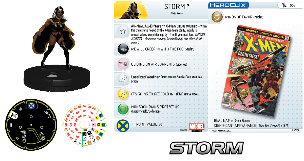 Marvel HeroClix: Uncanny X-Men - Giant-Size X-Men - Storm
