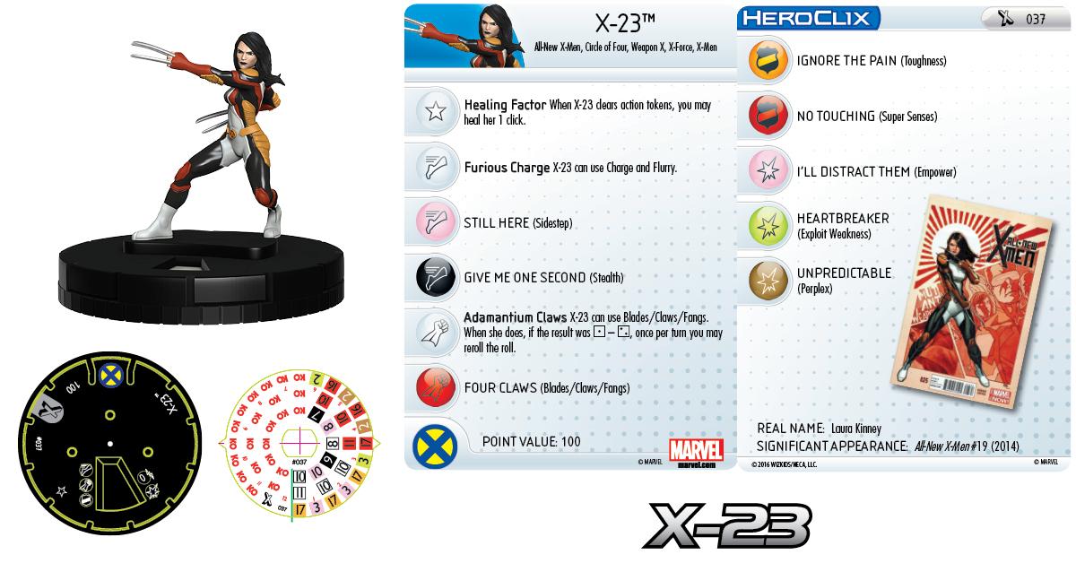Marvel HeroClix: Uncanny X-Men - X-Women - X-23