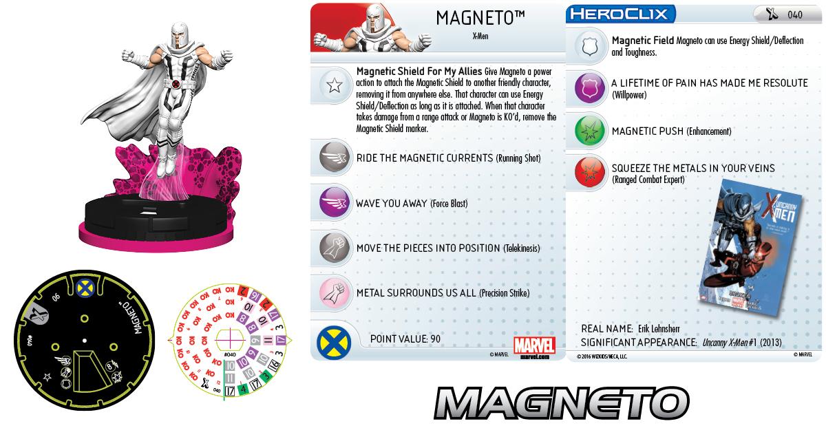Marvel HeroClix: Uncanny X-Men - Age of Apocalypse - Magneto