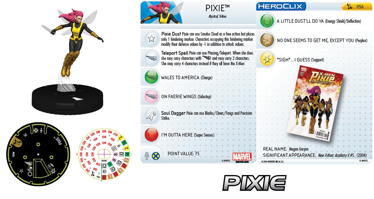 Marvel HeroClix: Uncanny X-Men - X-Women - Pixie