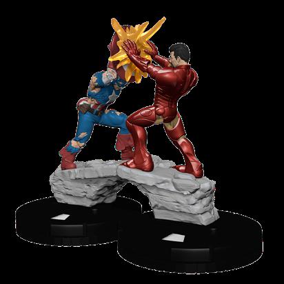 Marvel HeroClix: Civil War Storyline OP Clash