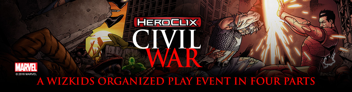 Marvel HeroClix: Civil War Storyline OP Month 1