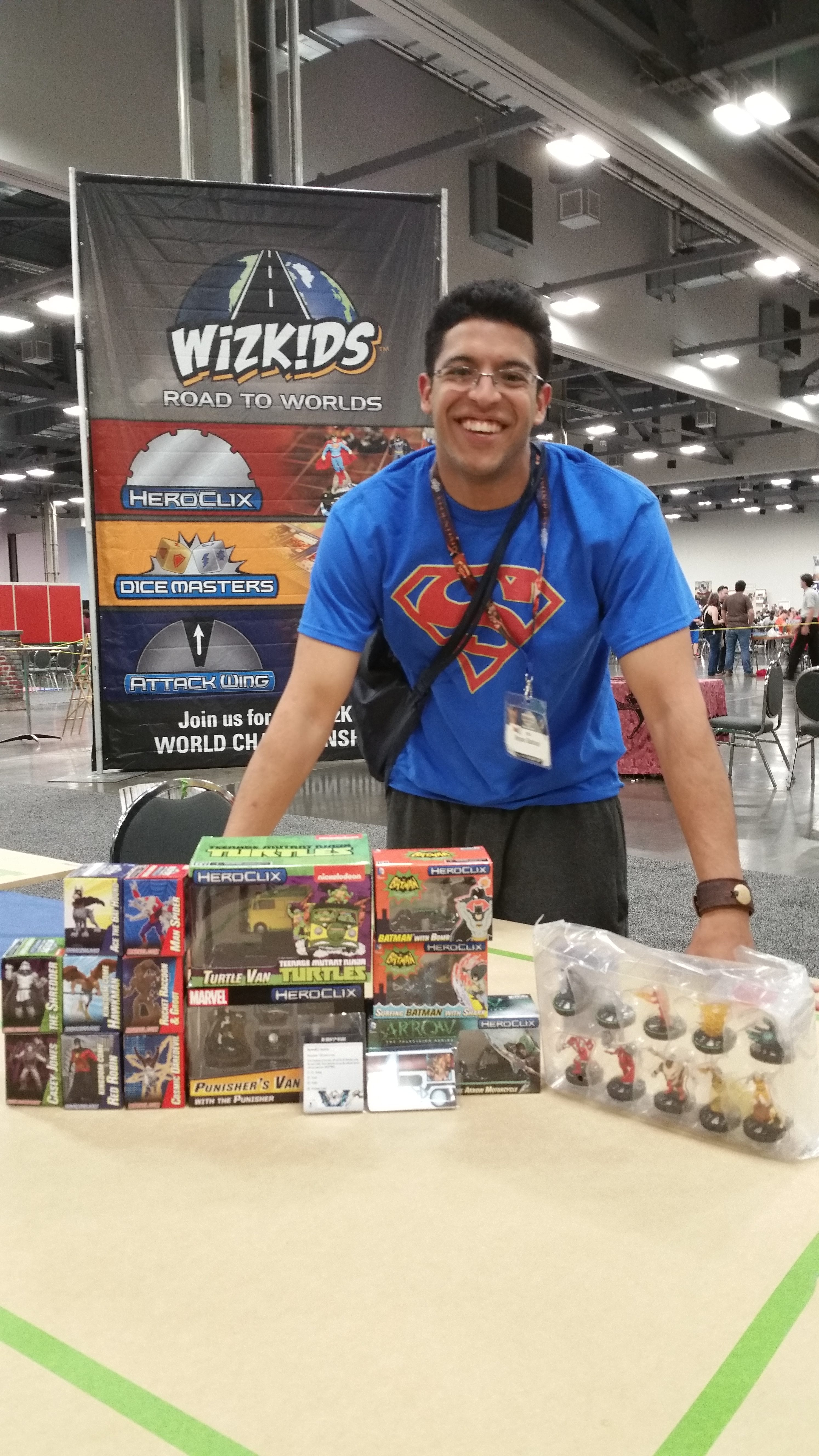 2016 HeroClix World Championship - 3rd – 4th – Bryan Santana
