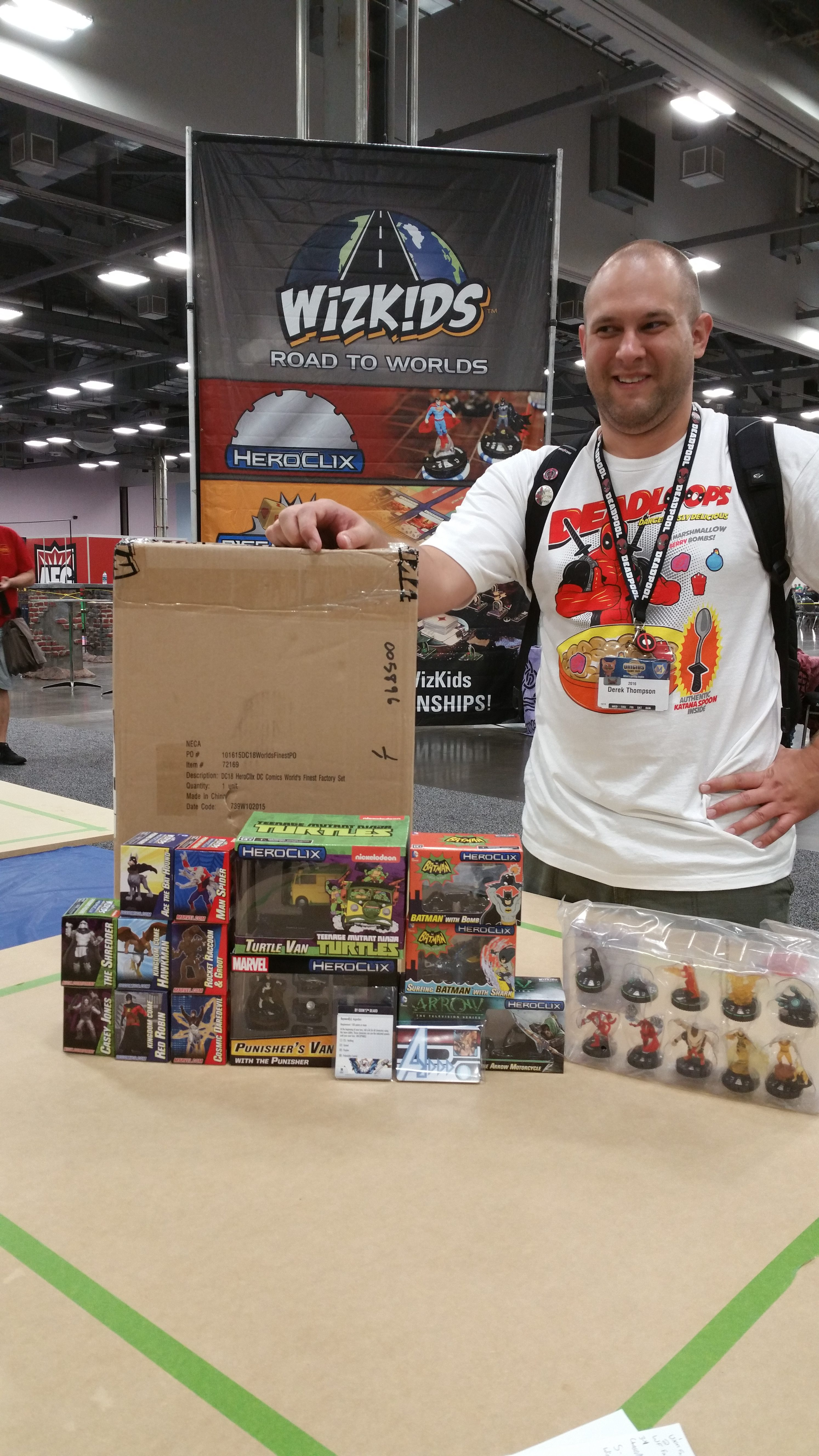 2016 HeroClix World Championship - 2nd Place Derek Thompson