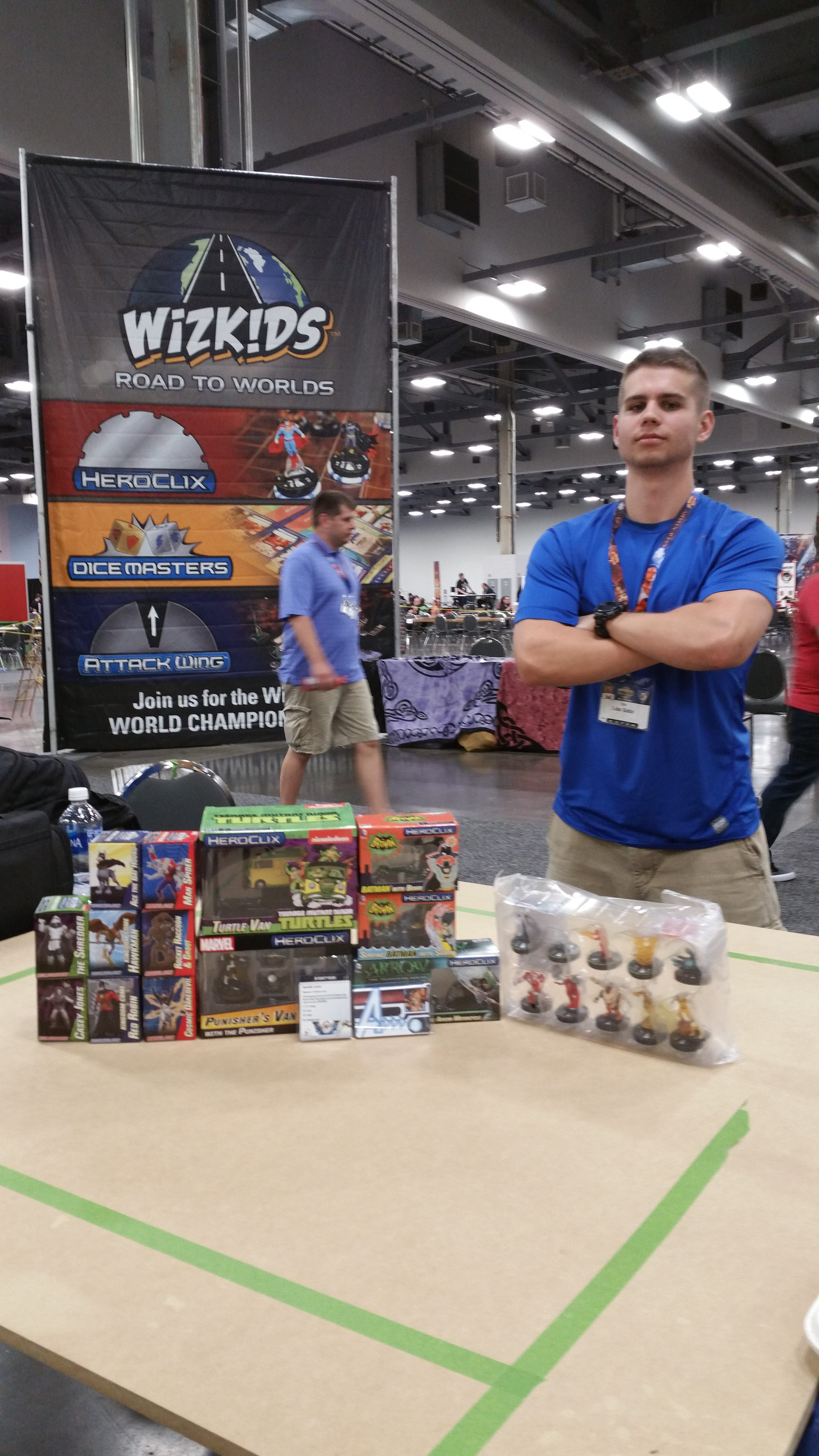 2016 HeroClix World Championship - 3rd – 4th – Luke Grace