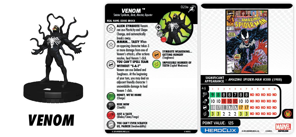 Marvel HeroClix: Superior Foes of Spider-Man  - Venom