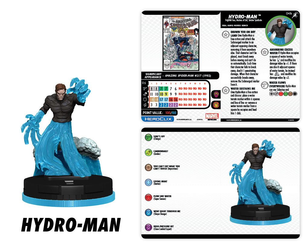 Marvel HeroClix: Superior Foes of Spider-Man - Hydro-Man