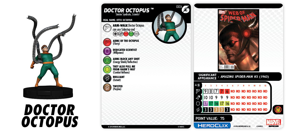 Marvel HeroClix: Superior Foes of Spider-Man - Doctor Octopus
