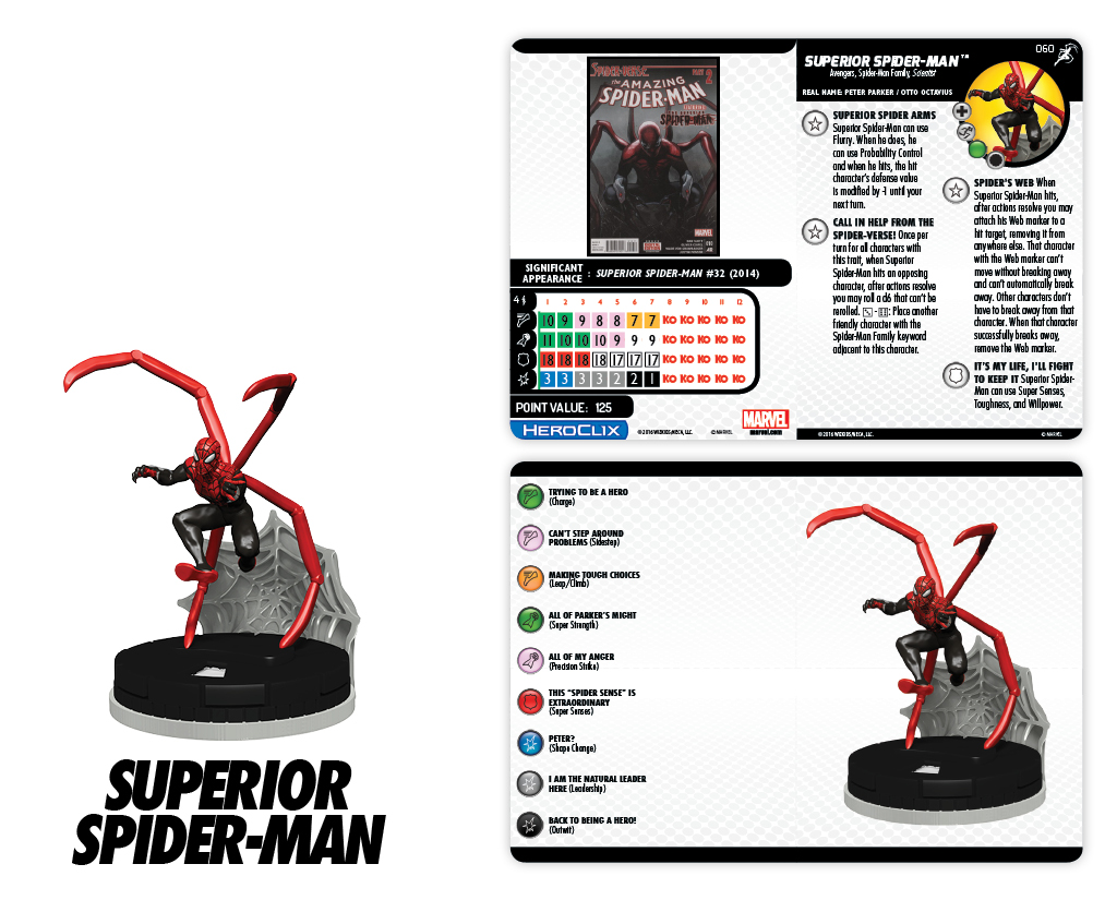 Clix It Up - Marvel HeroClix: Superior Foes of Spider-Man - Superior Spider-Man 060